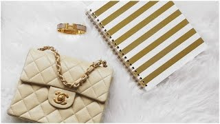Bag collection : mes petits sacs (Louis Vuitton, Chanel,…) ▲ lepointJenn ▲