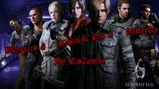 [HD][PC] Biohazard 6 Aka Resident Evil 6 Walkthrough - Game Start  Leon & Helena PC German