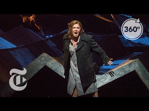 Rocking Out Backstage With an Opera Star | The Daily 360 | The New York Times