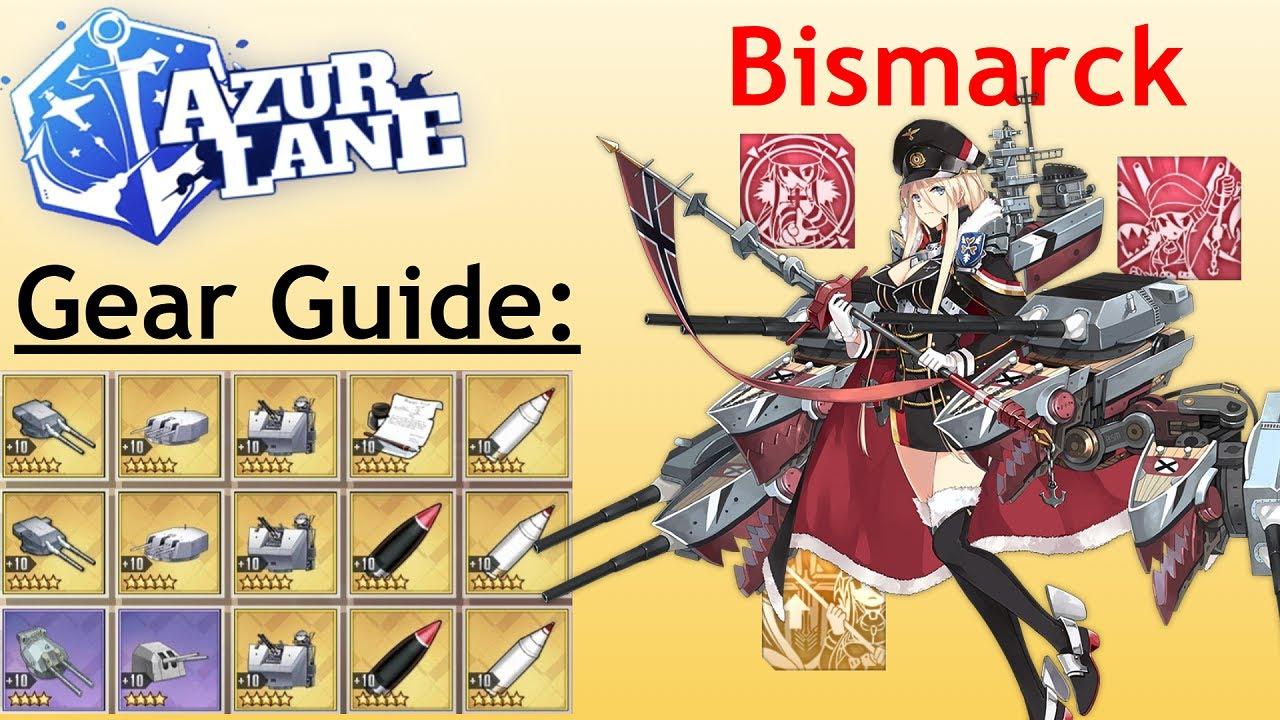 Download Azur Lane Bismark  PNG