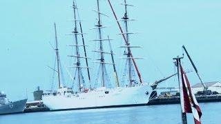 Mira el buque escuela Unión que construyó el Perú