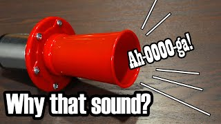 Klaxons; What makes them sound like that?
