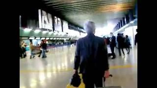 イタリア・ローマからイギリス・ヒースローへの移動の時に撮った初めて...