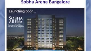 Sobha Arena - Arena 2,3BHK Apartments by Sobha - Sobha Arena Kanakapura Road Bangalore Price
