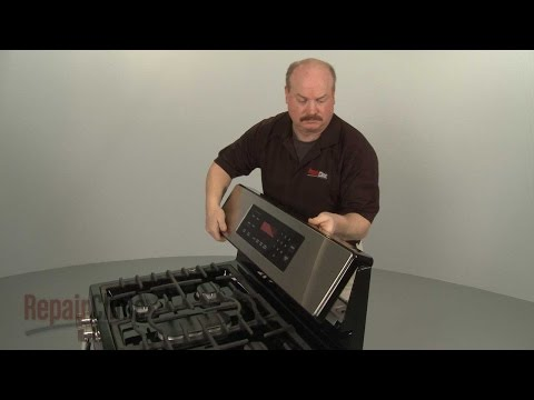 Oven Control Panel - LG Gas Range