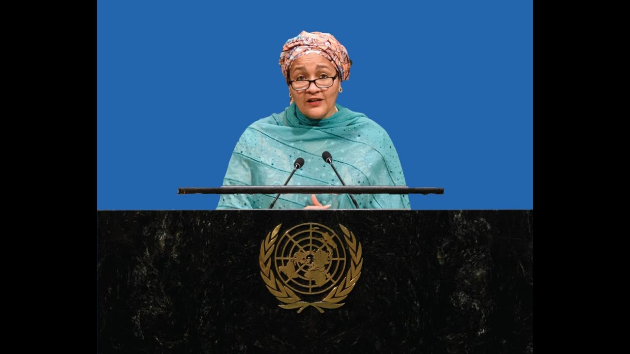 United Together: A Conversation with UN Deputy Secretary-General Amina J. Mohammed