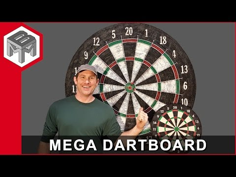 Mega Dartboard - How To Make One