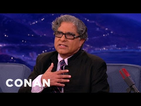 Deepak Chopra Demands Conan Apologize To Jordan Schlansky