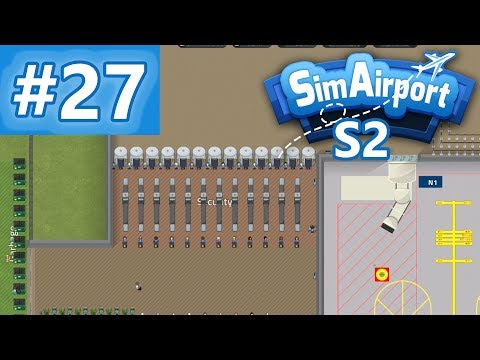 Remote Baggage Scanner 🛩Let's Play Sim Airport Edge S02E27 [Deutsch]