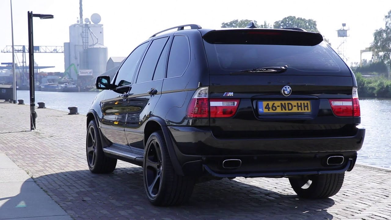 bmw x5 4 4 v8 m sport impressie etww occasion youtube. Black Bedroom Furniture Sets. Home Design Ideas