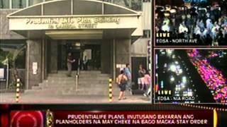 Prudentialife Plans, Inutusang Bayaran Ang Planholders Na May Cheke Na Bago  Magka-stay Order