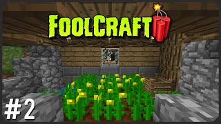 Better Food, Production And Capacity | FoolCraft 3 Episode 02 | Modded Minecraft Let's Play