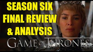 Game of Thrones Season Six Watch Full Season Review