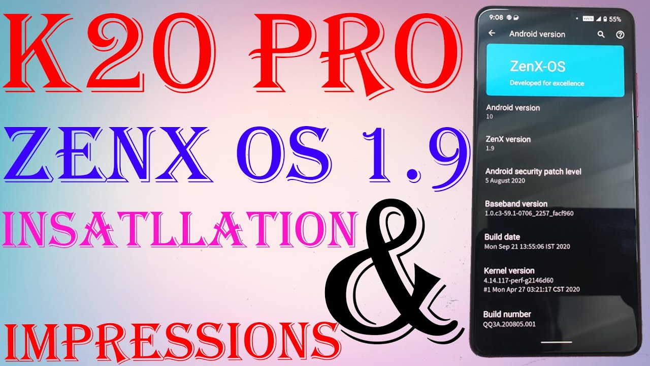 K20 PRO | ZenX OS v1.9 Sep Build | How To Install & First Impressions | Fast & Fluid | MI 9T PRO