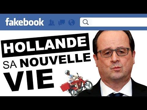 HOLLANDE: sa NOUVELLE VIE sur Facebook