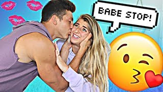 Can't Stop Kissing You Prank On Girlfriend *REVENGE*