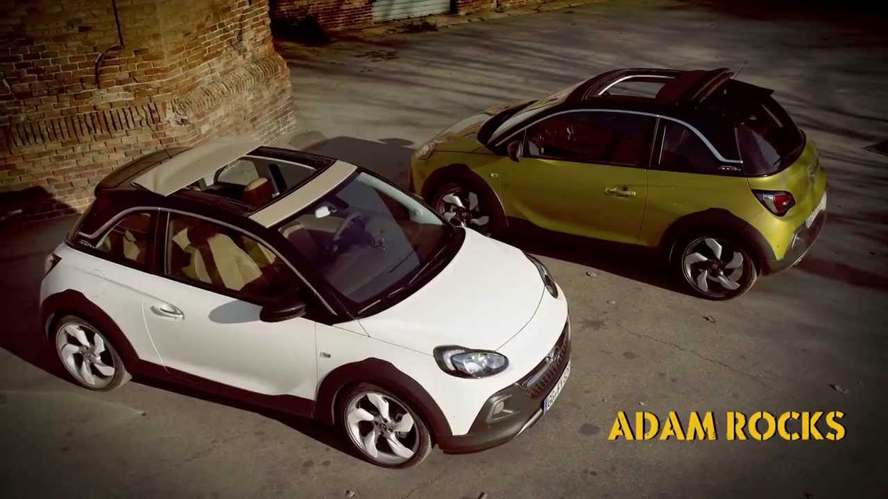 nouvelle opel adam rocks youtube. Black Bedroom Furniture Sets. Home Design Ideas