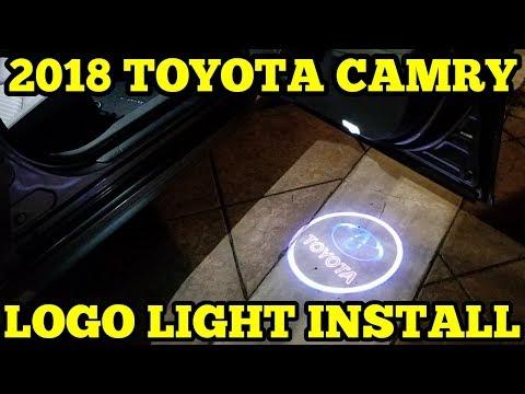 BAILONGJU 3D SHADOW PROJECTOR LOGO WELCOME LIGHTS INSTALLATION | 2018 TOYOTA CAMRY (2018) Mp3