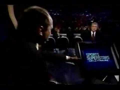 3/3 Johnny Bench on Millionaire (sports superstars)