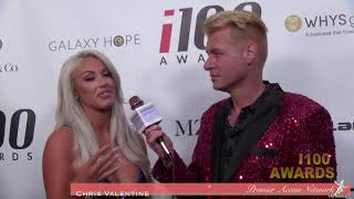 Laci Kay Somers and Chris Valentine, i100 Awards