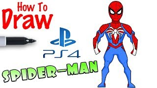 How to Draw Spider-man | PS4