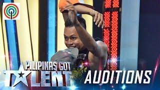 Pilipinas Got Talent Season 5 Auditions: Mark Dune Basmayor aka Bonebreak Beast - Contortionist