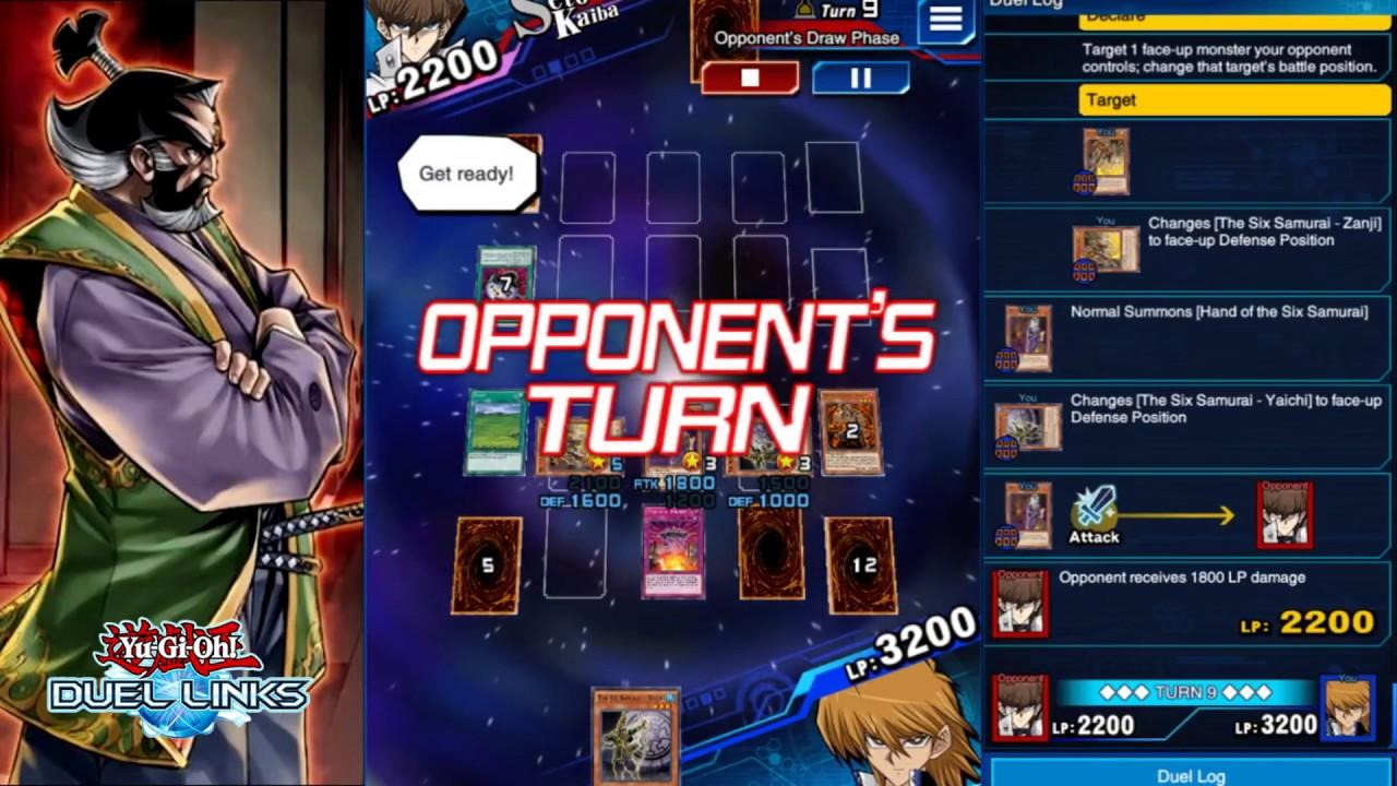 Duel Links - Six Samurai/Shien's Dojo Ranked Play