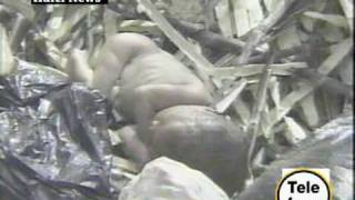 NEW BORN BABY FOUND IN PILE OF TRASH.