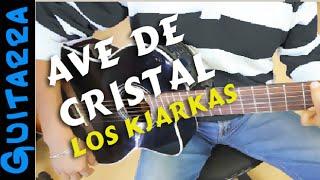 Como tocar AVE DE CRISTAL en Guitarra