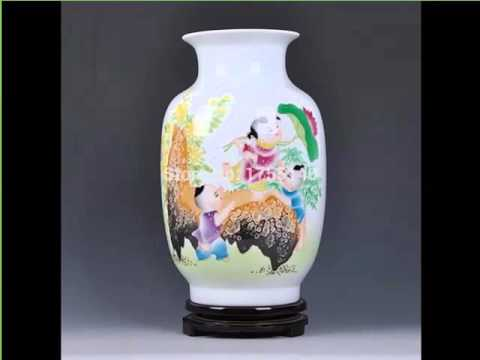 Colorful Painted Ceramic Vases Picture Collection Of Home Decor