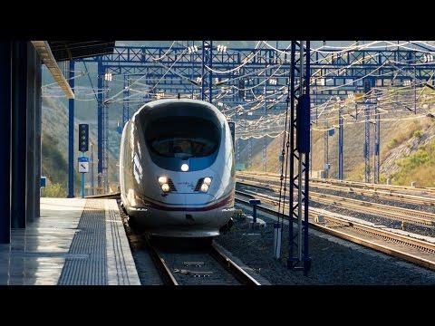 Скоростной поезд мадрид валенсия