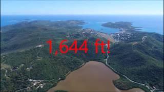 Island record dji Phantom 4 pro highest altitude!