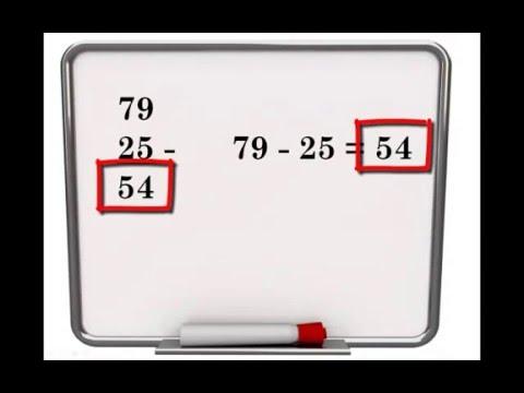Rekenen groep 5 - Uitleg minsommen onder elkaar