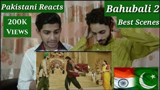Pakistani Reacts To ll Bahubali 2 Best Scenes ll Reactions Tv