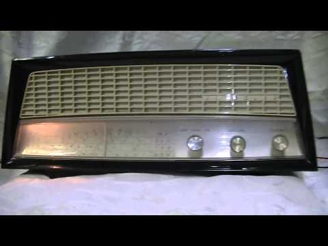 Kriesler 11-81A Valve radio 1958