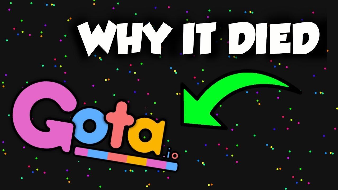 Why Gota.io Died - My experience with Gota