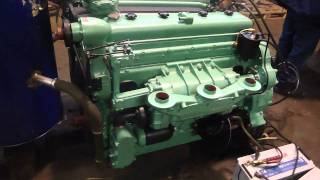 Sherman Tank Engine GM 6046 Twindiesel Fire Up