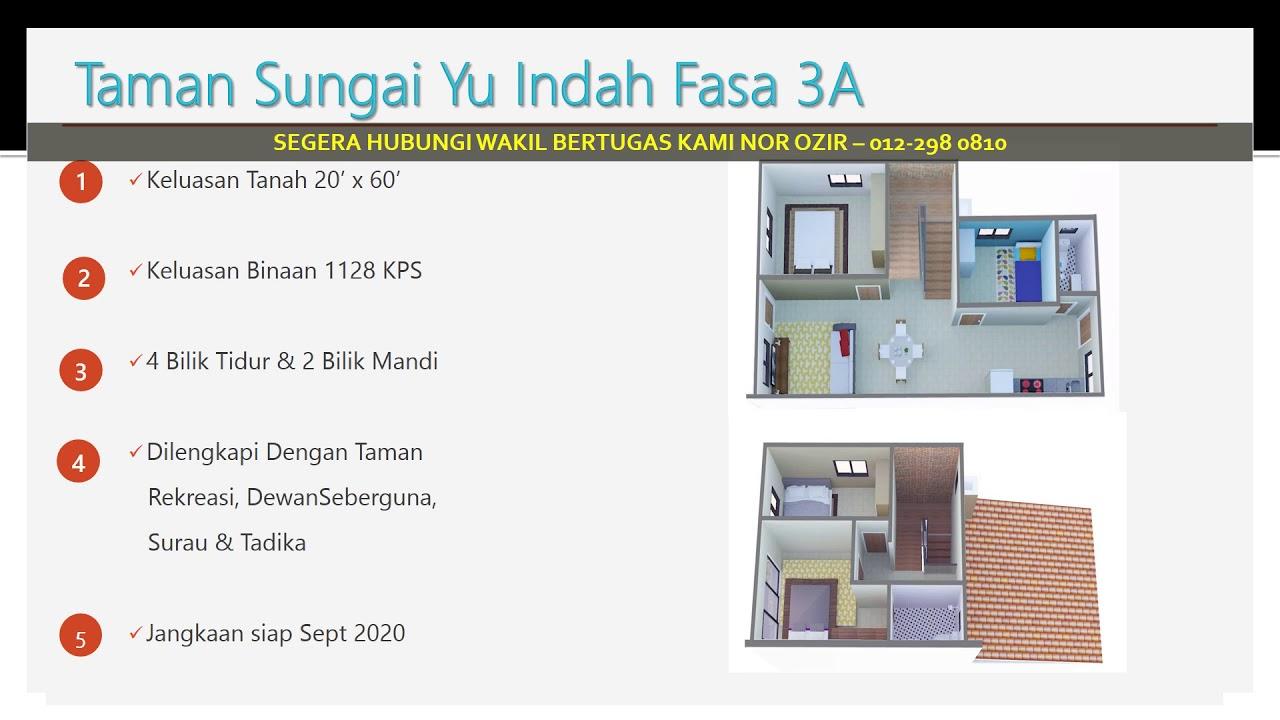 Projek Rumah Mampu Milik Sg Yu Kuala Selangor Youtube