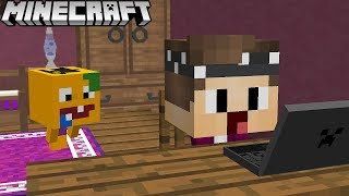 VITAMINE BRICHT IN MEIN HAUS EIN IN MINECRAFT!