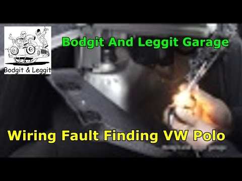 Wiring Fault Finding VW Polo (Rear fog Light Not Working) Bodgit And Leggit Garage