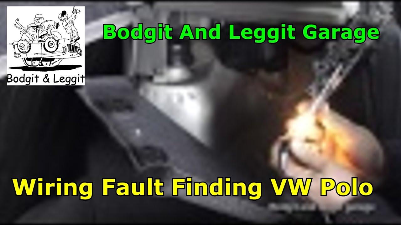 Wiring Fault Finding Vw Polo Rear Fog Light Not Working Bodgit And Volkswagen 9n Diagram Leggit Garage