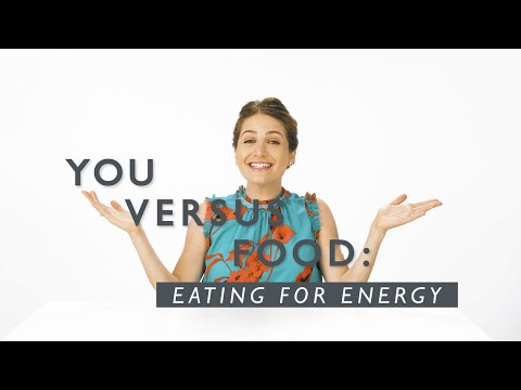 How To Eat For Optimal Energy, According To A Dietitian | You Versus Food | Well+Good