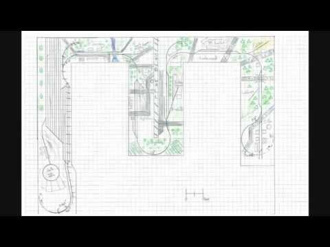 Track Plan for the Sayrehurst Secondary Model railroad