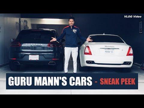 MY CARS - Sneak Peek (VLOG) Guru Mann