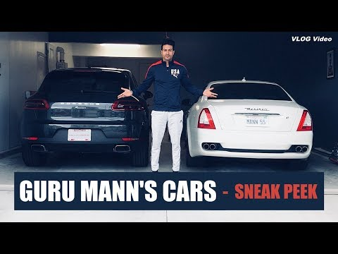 MY CARS - Sneak Peek (VLOG) Guru Mann