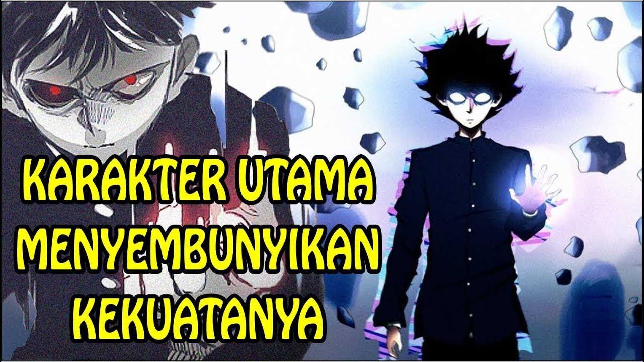 10 anime karakter utama menyembunyikan kekuatannya
