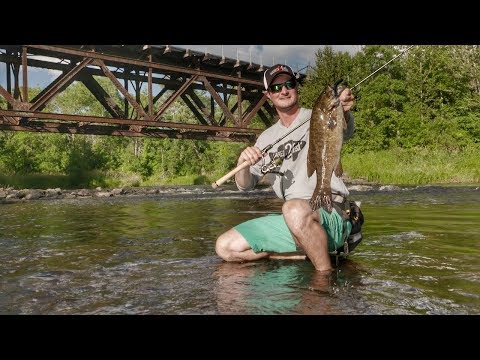 Breaking Down River Eddies For Smallmouth Bass