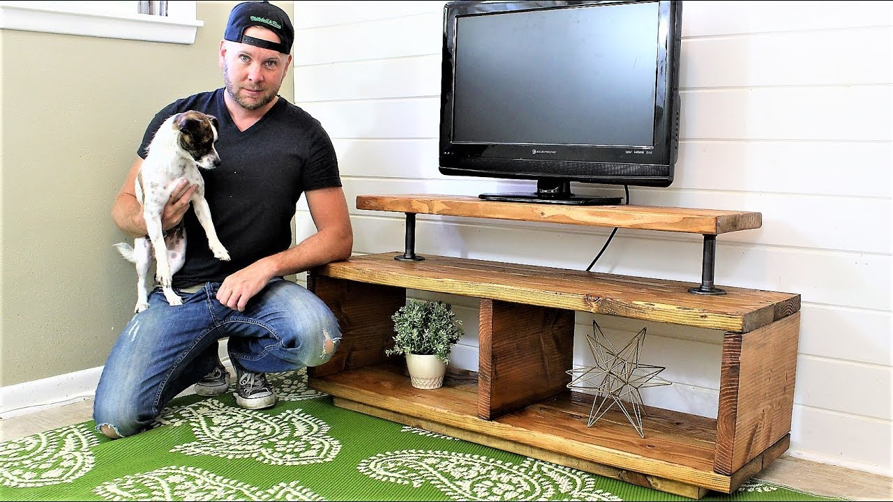 The Super Easy Tv Stand Diy Project Youtube