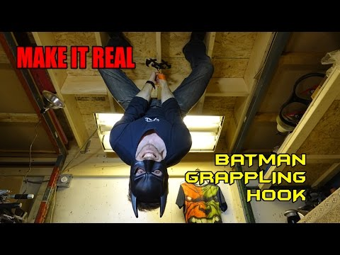 This Guy Created His Own Working Batman-Style Grappling Hook, And It's A Wonderful Toy