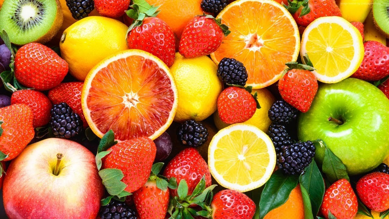 Summer fruit and berries Wallpapers - YouTube